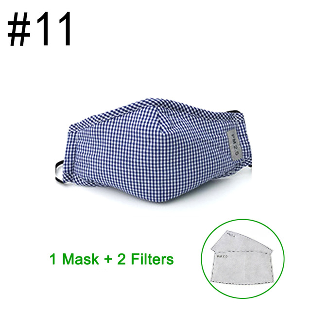 PM2.5 Cotton carbon filter Mask with 2 Filters - iLifeMall.com
