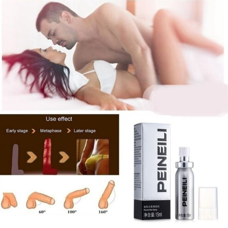 15ml Men Sex Delay Spray Male Anti Premature Ejaculation Prolong Big Dick Enlargement Cock Erection Enhancer Adult Product