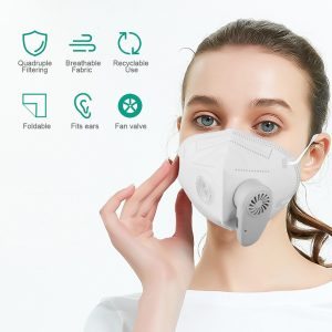 N95 USB rechargeable Masks
