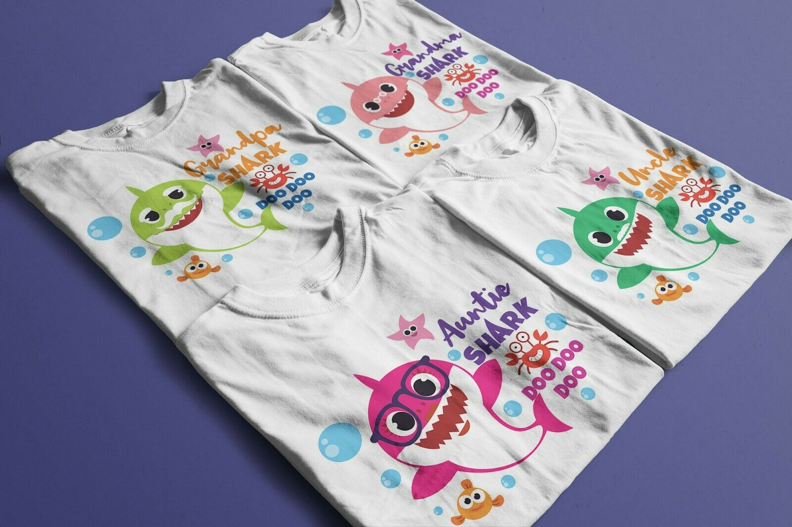 baby shark family shirts daddy and me shirt family matching shirt Baby Shark Matching family t-shirt fashion t-shirt mommy and me shirt